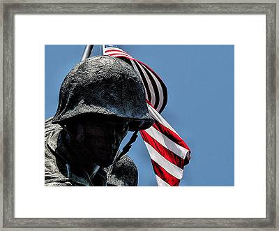 I Pledged Allegiance Framed Print by William Jones