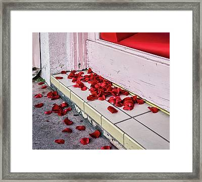 I Poured Out My Heart Framed Print