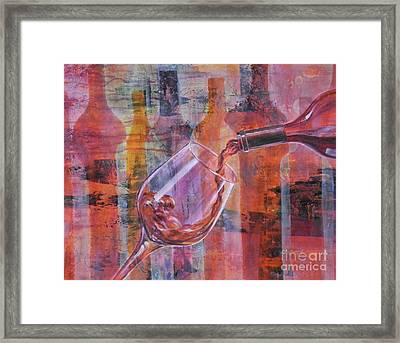 I Prefer Red, You? Framed Print