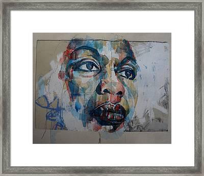 I Put A Spell On You - Nina Simone  Framed Print
