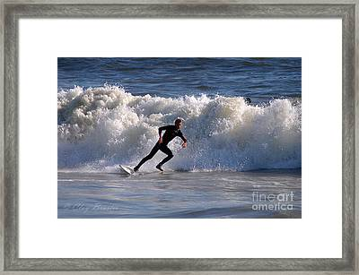 I Quit Framed Print by Clayton Bruster