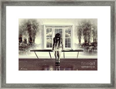 I Read The News Today - Oh Boy Framed Print