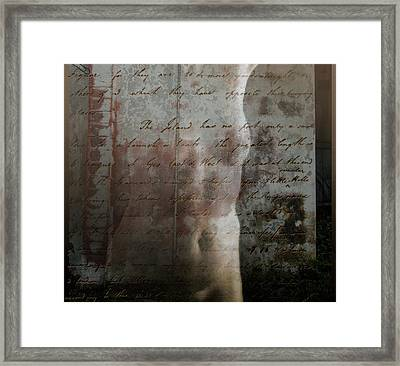 I Remember Framed Print by Ready Mades