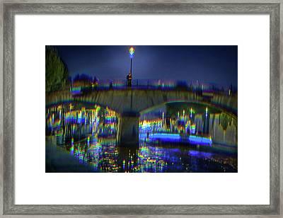 I Remember Paris Framed Print