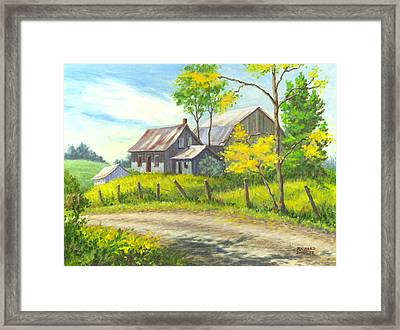 I Remember When Framed Print by Richard De Wolfe