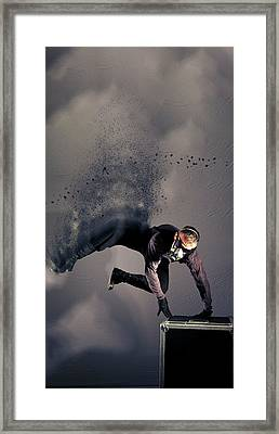 I - S P Y Framed Print by Nichola Denny