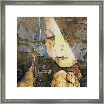 I Say A Little Prayer Framed Print by Paul Lovering