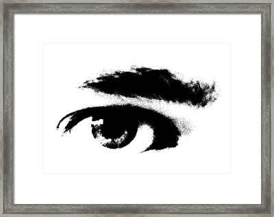 I Se You Framed Print by Robert Litewka