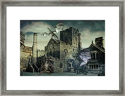 I See Dragons Framed Print by Terri Waters