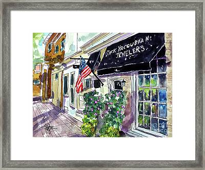 I See Shiney Things Framed Print by Tim Ross