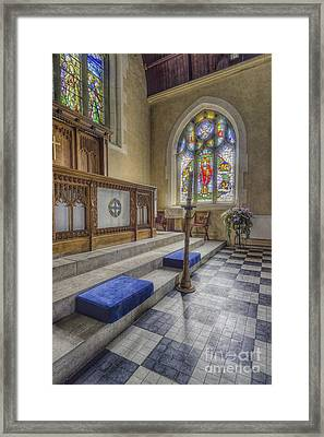 I See The Light Framed Print by Ian Mitchell