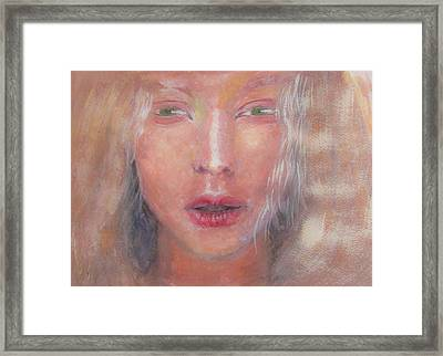 Framed Print featuring the painting I See The Light by Jarko Aka Lui Grande
