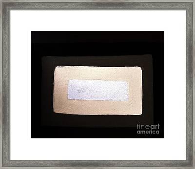 I See The Light Framed Print by Marsha Heiken