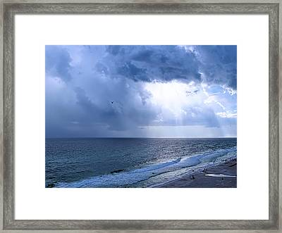 I See The Light Framed Print by Theresa Campbell