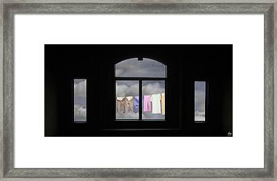 I See The Way Framed Print