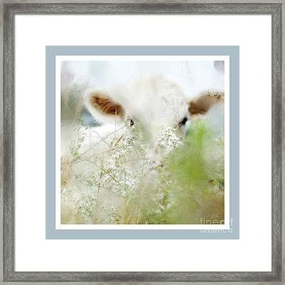I See You - Abstract Framed Print by Anita Faye