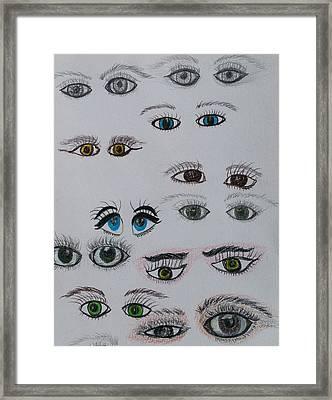 I See You Framed Print by Carlene Harris