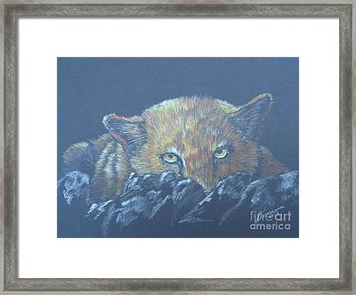 I See You Framed Print by Laurianna Taylor