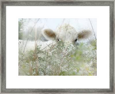 I See You - Sparkle Squares Framed Print