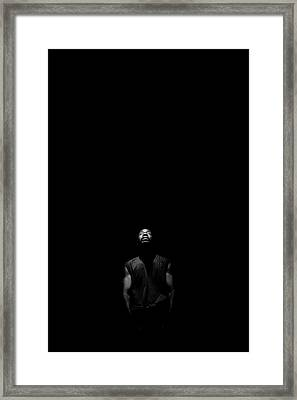 Framed Print featuring the photograph I See Your Face by Eric Christopher Jackson