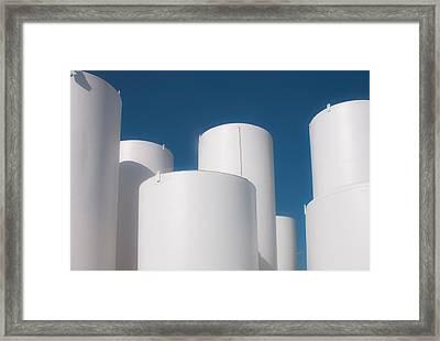 I Sell Propane Framed Print