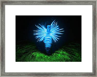 Framed Print featuring the photograph I Sing The Body Electric by Mark Fuller