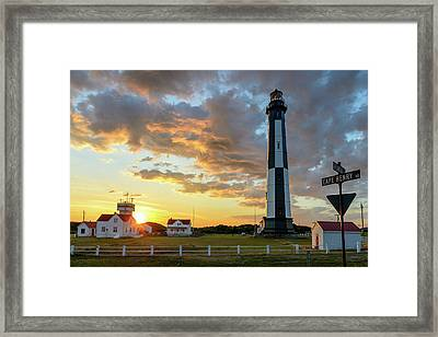 I Stand Relieved Framed Print
