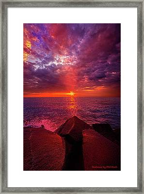 Framed Print featuring the photograph I Still Believe In What Could Be by Phil Koch