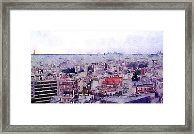 Framed Print featuring the photograph I Still Have Paris by Susan Maxwell Schmidt