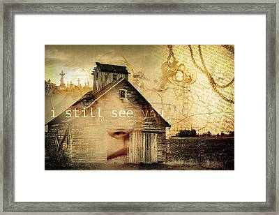 I Still See You In My Dreams Framed Print by Design Turnpike