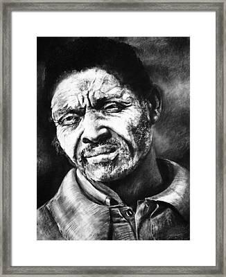 I Surrender Lord Framed Print by Curtis James
