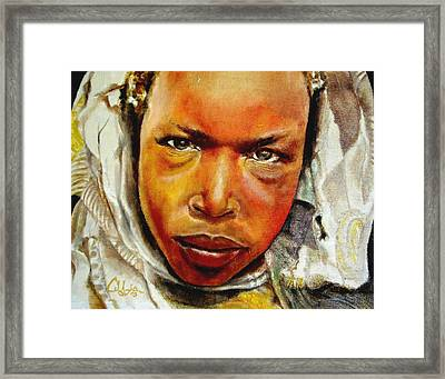 I The Prophet Prophesy To You Framed Print by G Cuffia