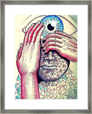 I Think The What I Think Others Also Are Thinking Framed Print