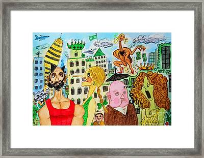 I Wanna Dineroh / I Wanna Money Framed Print