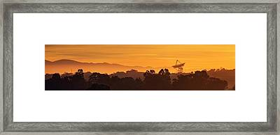 Framed Print featuring the photograph I Wanna Walk On Your Wave Length by Quality HDR Photography