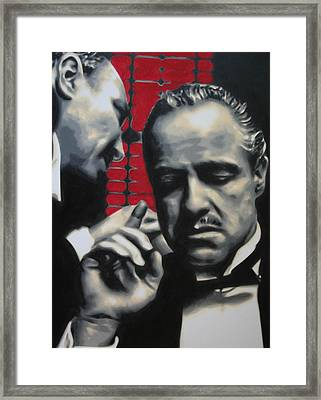 I Want You To Kill Him 2013 Framed Print