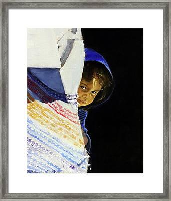 I Was A Stranger Framed Print by Gordon Bell
