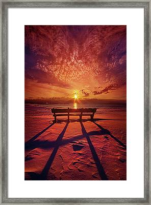 I Will Always Be With You Framed Print