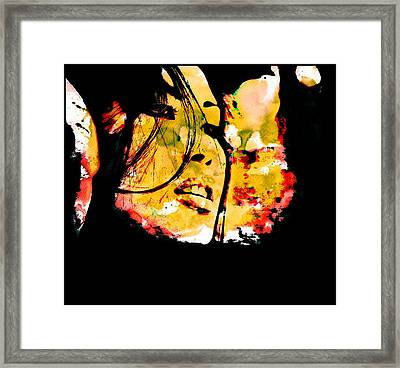 Inexorably, Time Moves Framed Print