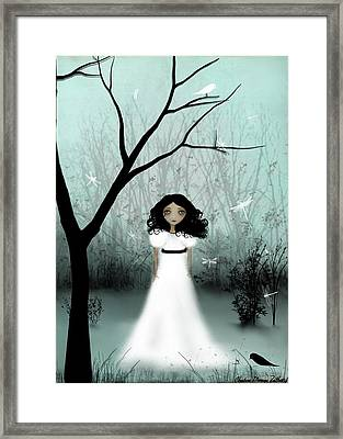 I Will Be Your Light Framed Print by Charlene Zatloukal