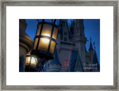 I Will Leave The Light On Framed Print