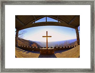 I Will Lift My Eyes To The Hills Psalm 121 1 Framed Print