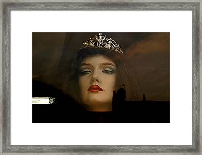 I Will Make Your Life Hell Framed Print by Jez C Self