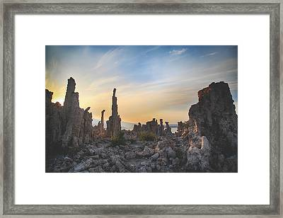 I Will Overcome Framed Print by Laurie Search