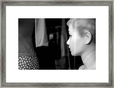 I Will Wait Behind You Framed Print by Jez C Self