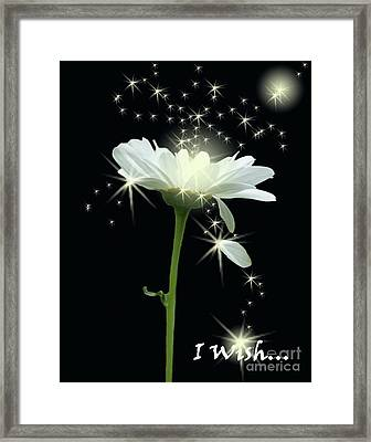 I Wish Framed Print by Cathy  Beharriell