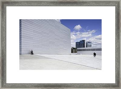 I Wish I Could Walk Too. Framed Print by Wayne Pearson