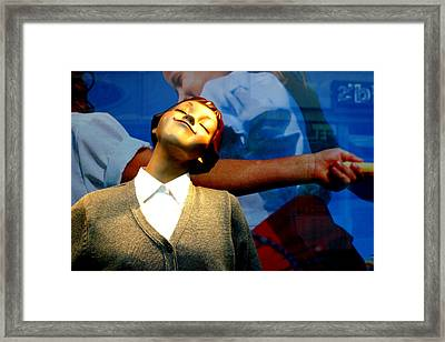 I Won Framed Print by Jez C Self