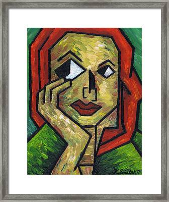 I Wonder Framed Print by Kamil Swiatek