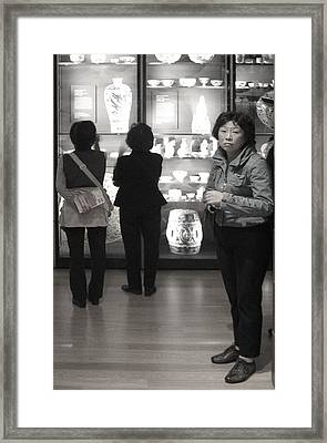 I Wonder What Is Out There Framed Print by Jez C Self